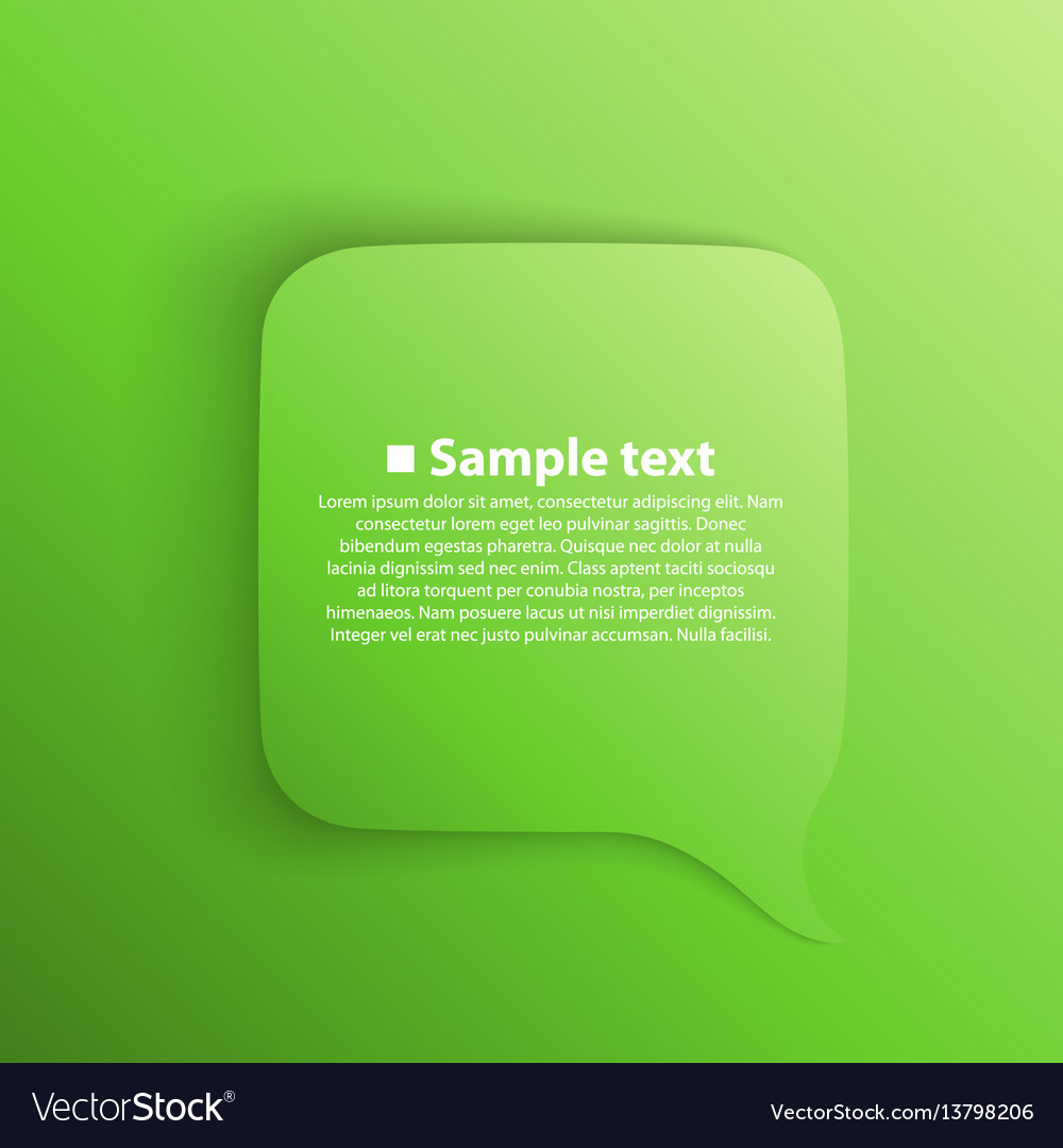 Chat background green