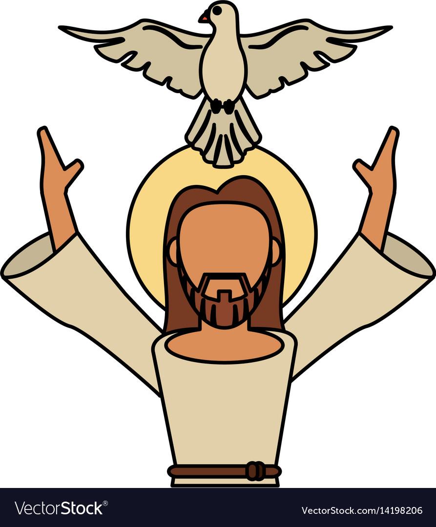Jesus christ holy spirit catholic