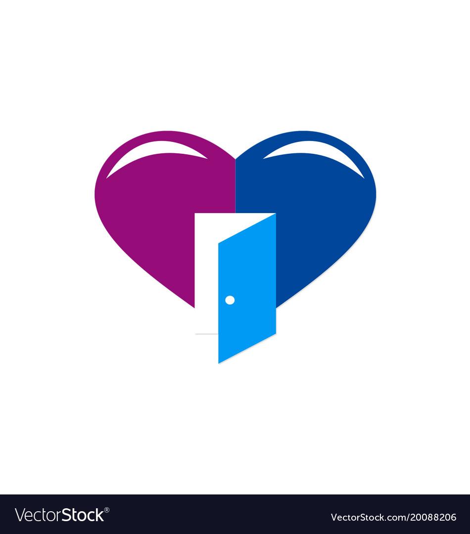 Love open door logo