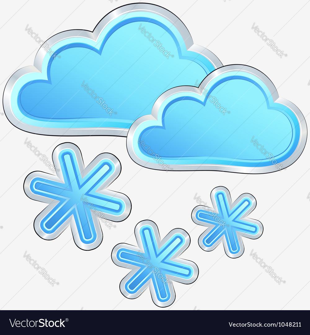 Icon of snow weather