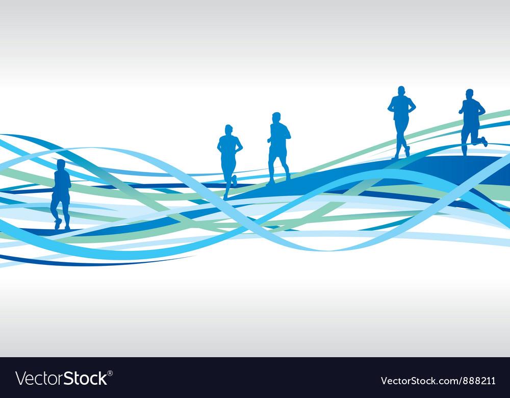 Runners spiral