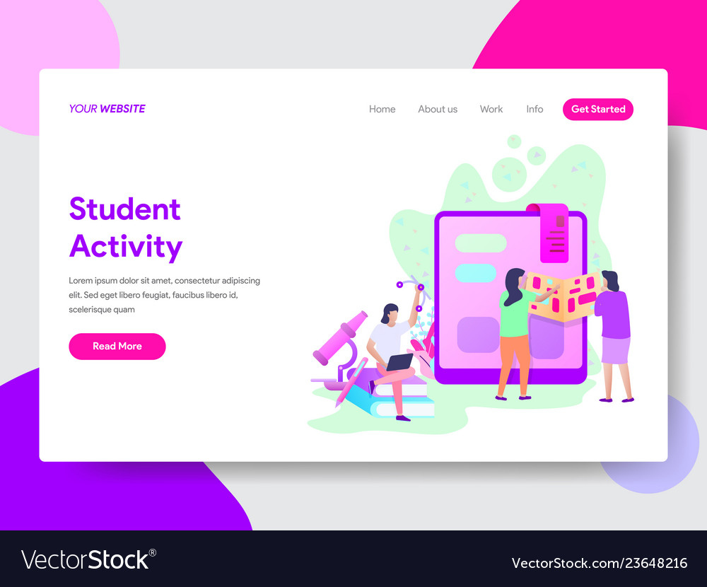 Student activity concept
