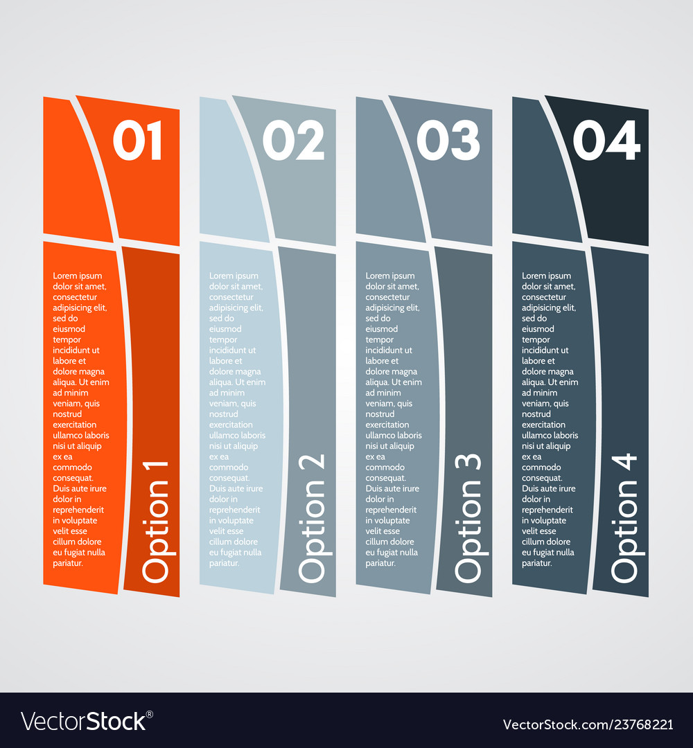 Four elements of infographic design