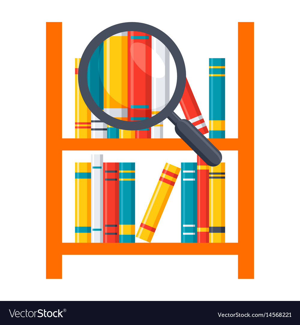 Library science icon