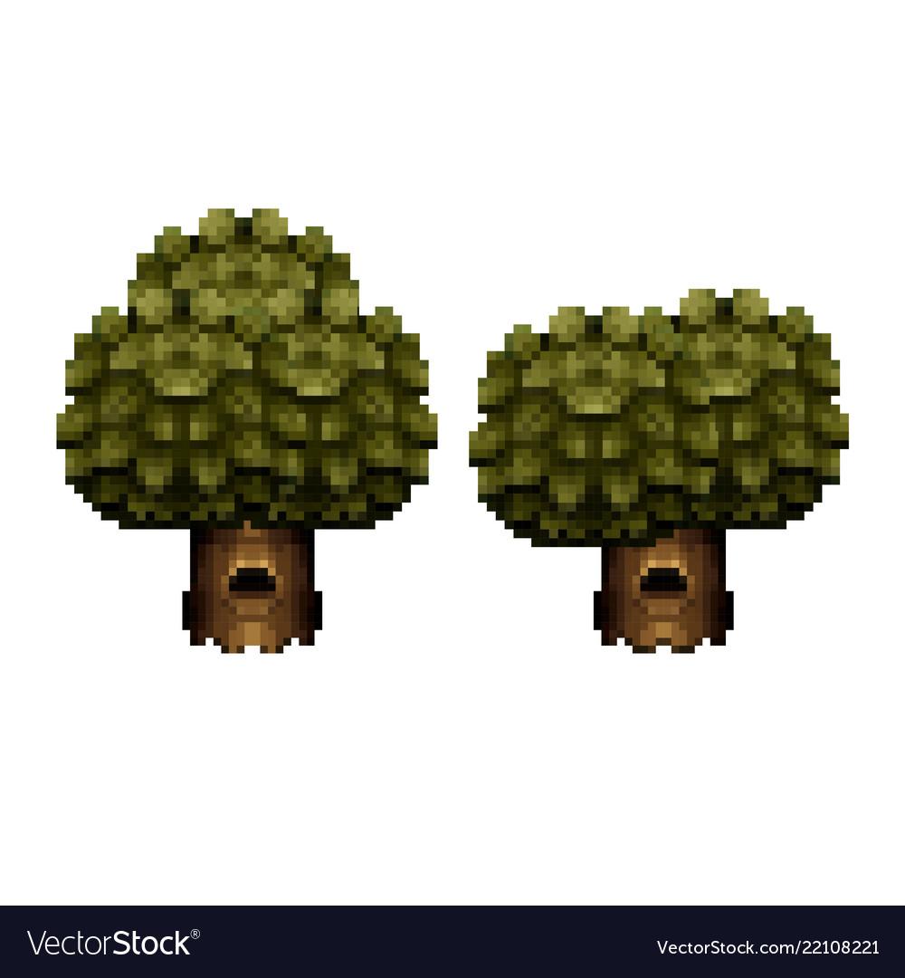 Tree - pixel art design
