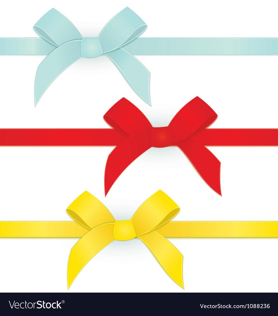 Ribbon three bows