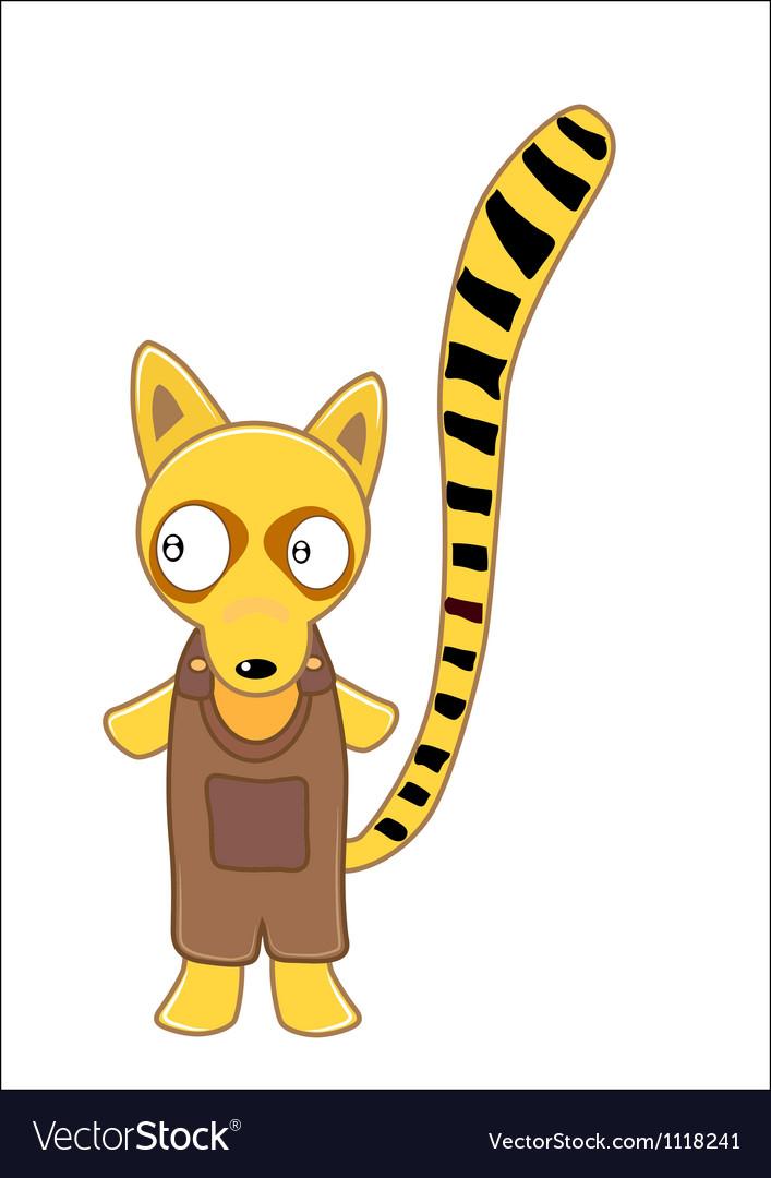 Lemur cartoon