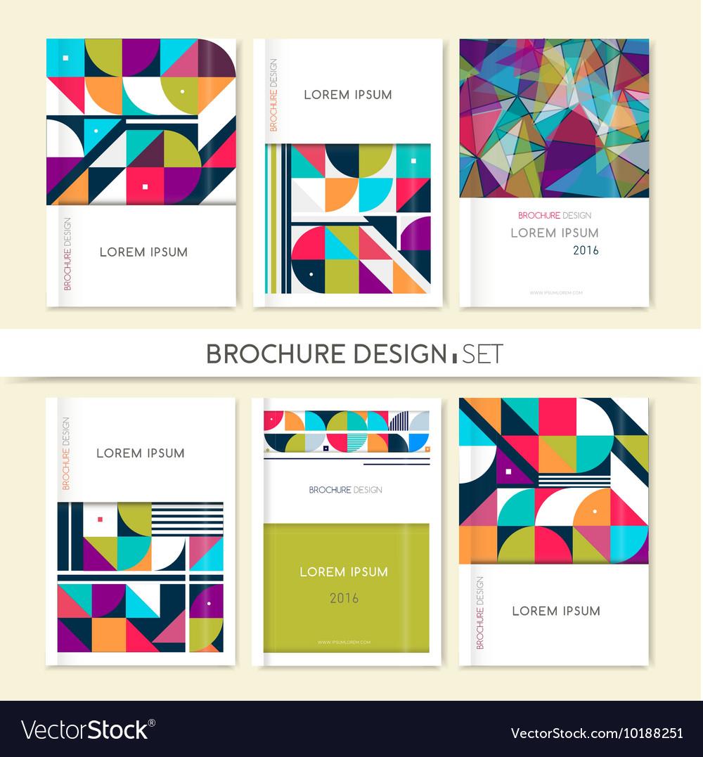 Collection Cover design for Brochure leaflet flyer