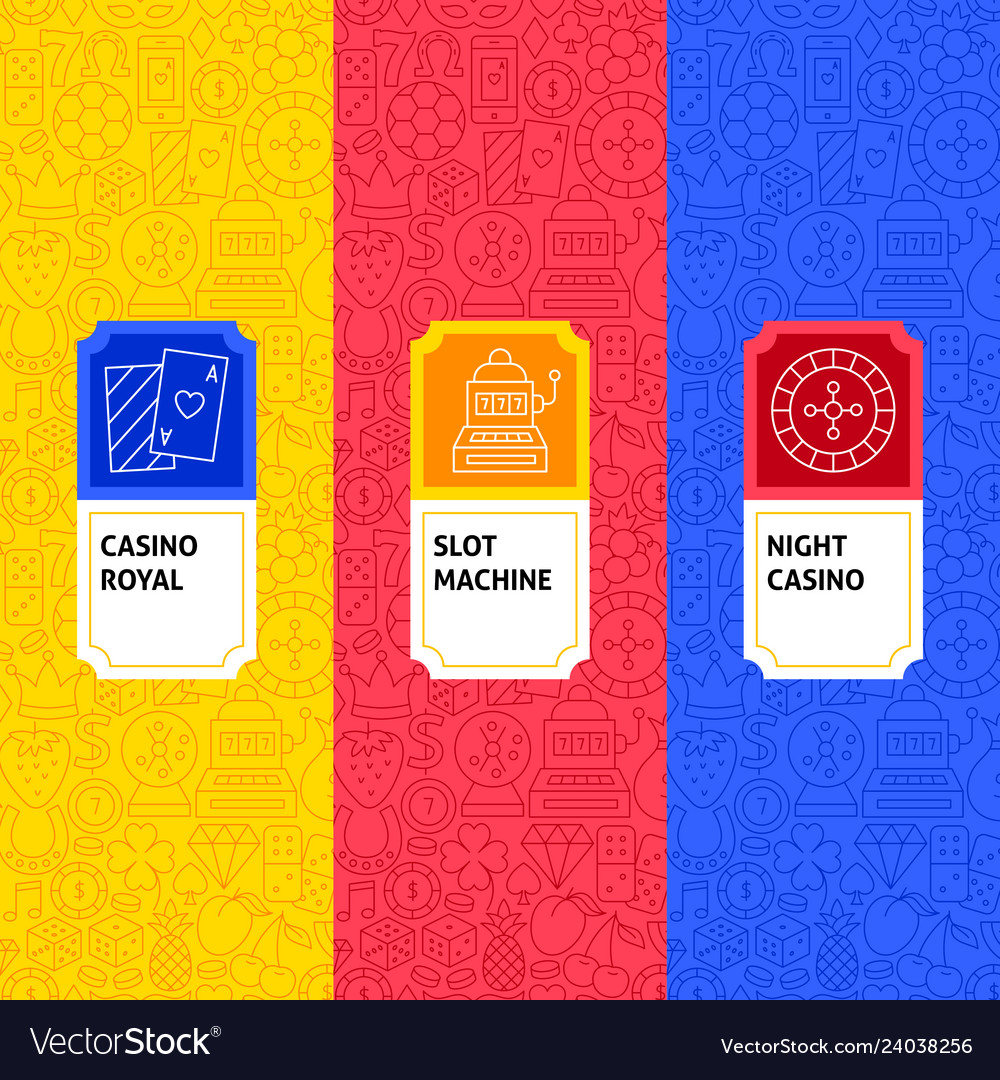Line casino package labels