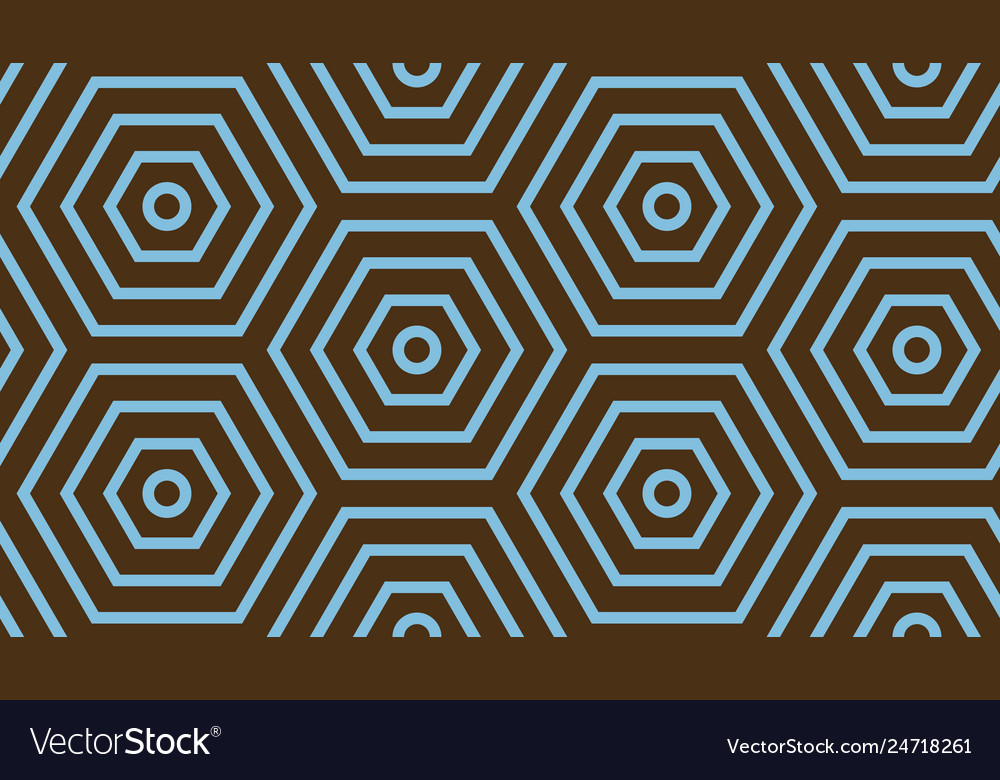 Abstract geometric background blue and brown