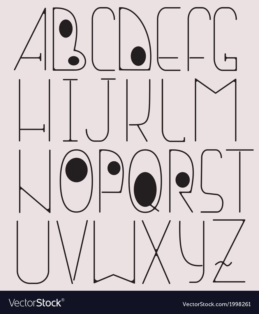 Complete English Alphabet