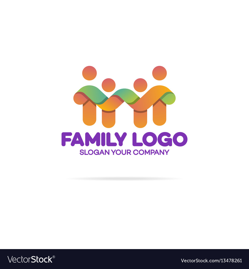 Family logo consisting of simple figures