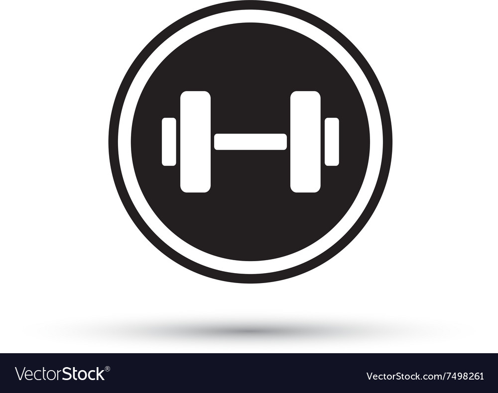weights logo royalty free vector image vectorstock rh vectorstock com weight training logos weight training logos
