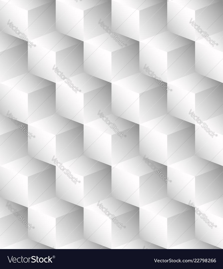 Bright pattern made of cubes repeatable fill any