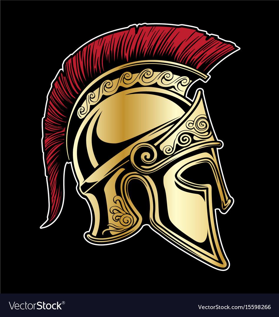 Gladiator spartan helmet