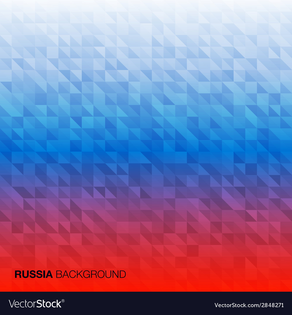 Abstract Background using Russia flag colors