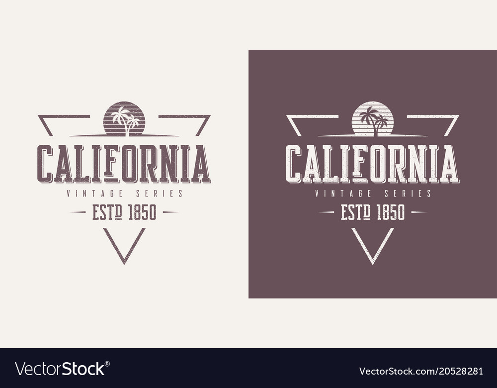 California state textured vintage t-shirt