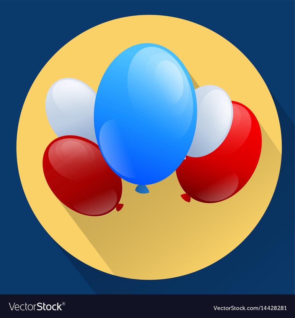 United states of america patriotic balloons