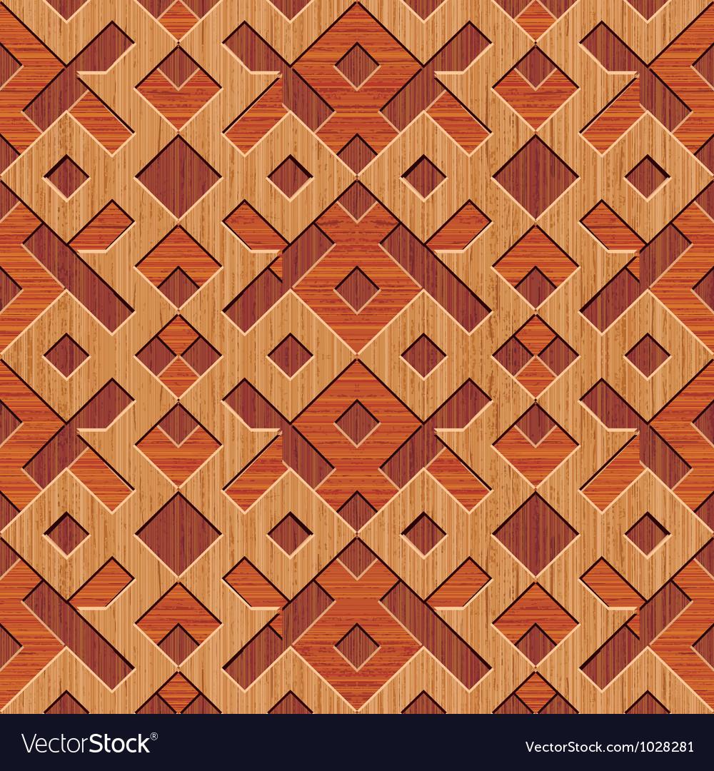 Wooden rhombus