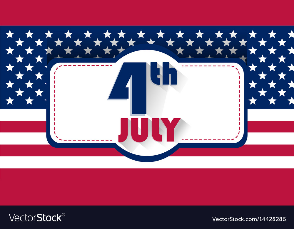 Independence day usa patriotick stock image the