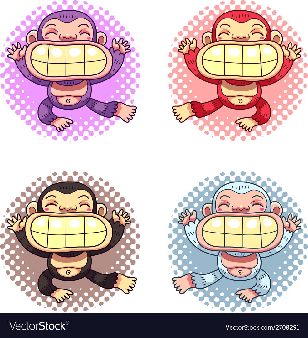 Cartoon Gorillas