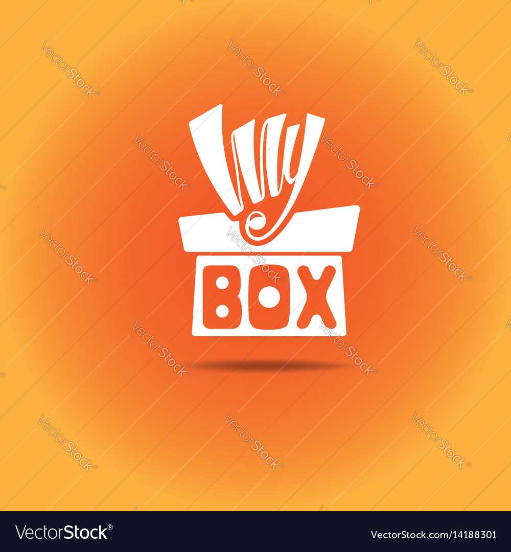 A box with a bow