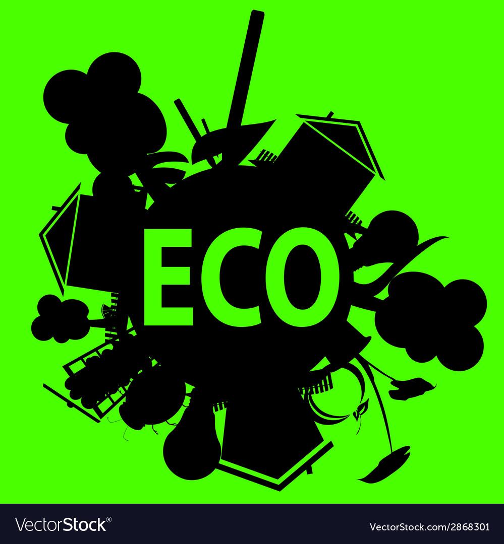 Eco in black