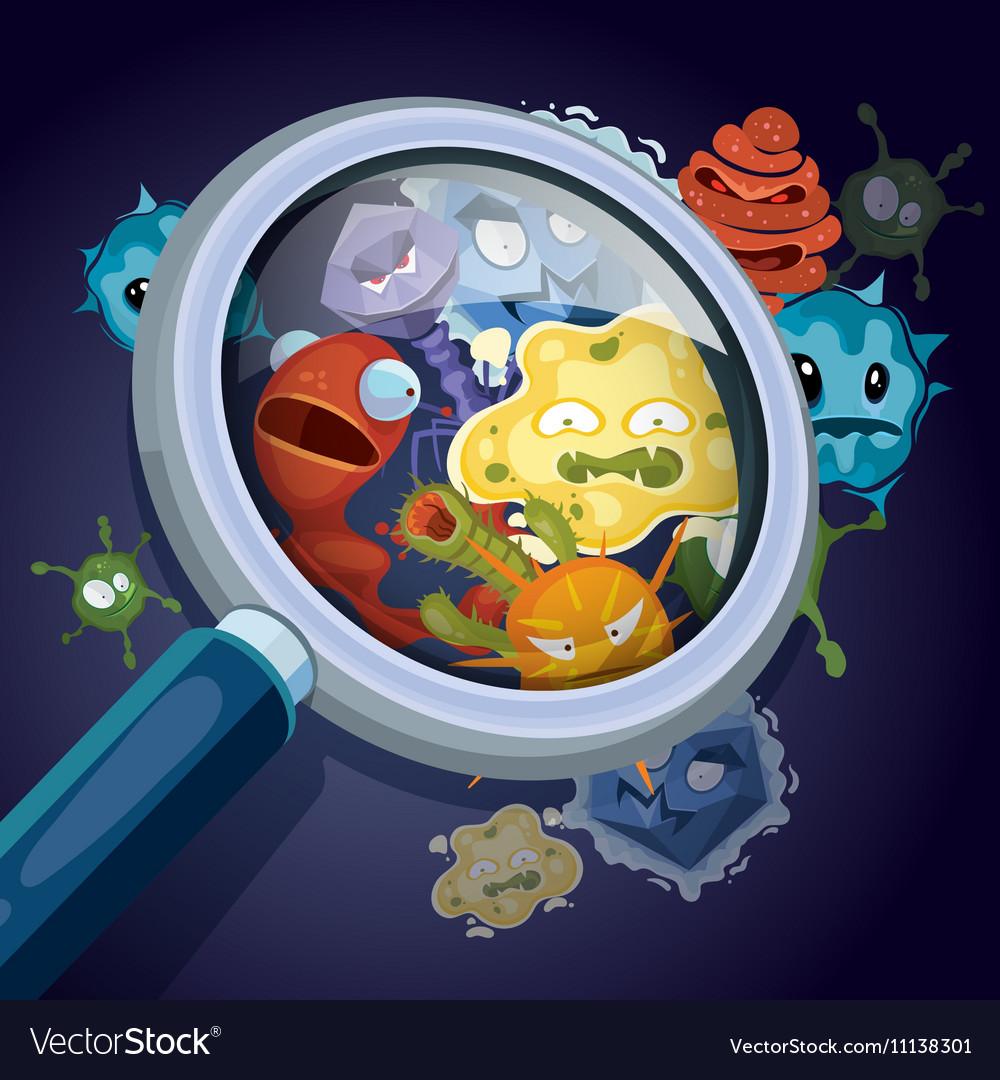 Microorganism microscopic bacteria pandemic