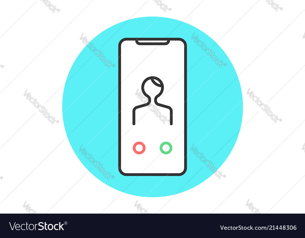 Icon abstract smartphone