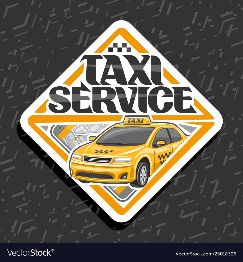 Logo for taxi service