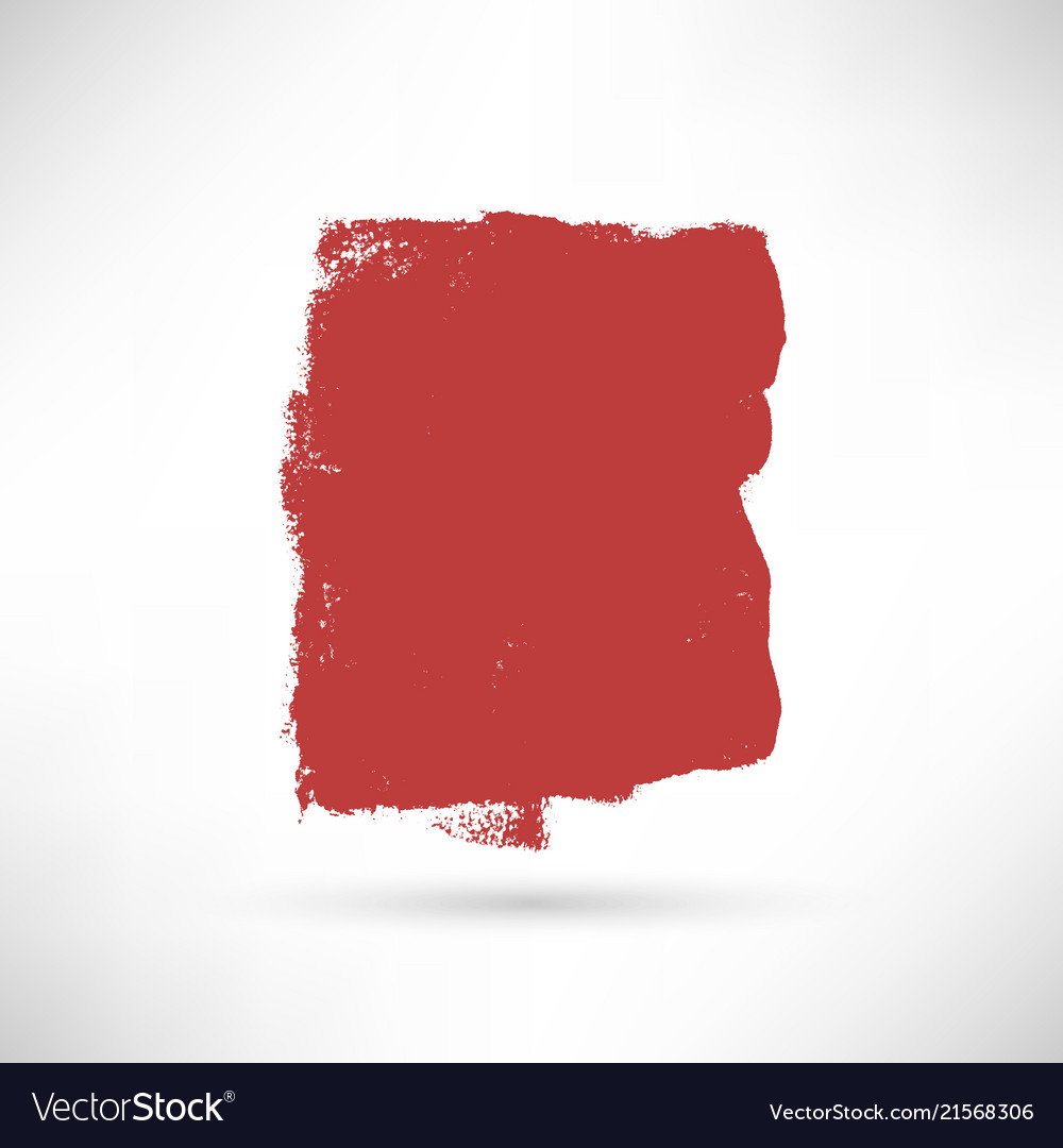 Red isolated banner