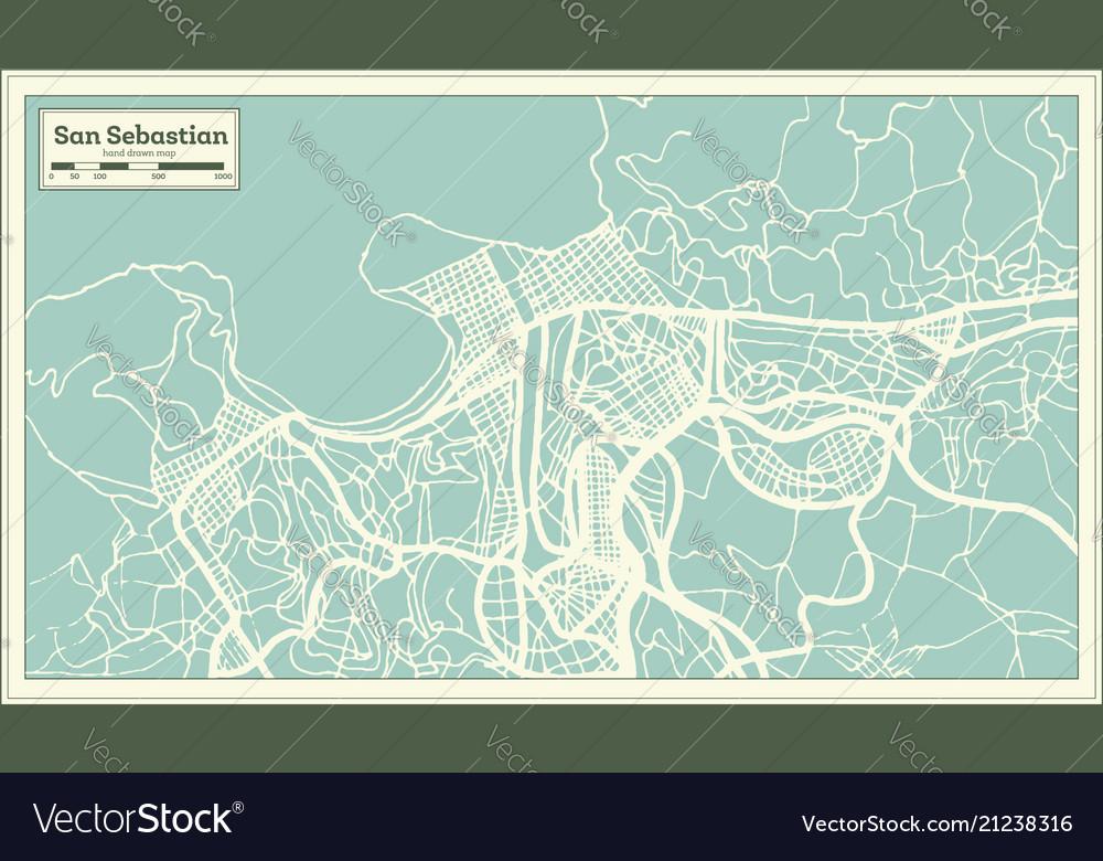 San sebastian spain city map in retro style on pamplona spain map, spain and egypt map, seville spain map, santander spain map, san sebastian old town map, zaragoza spain map, toledo spain map, st. augustine beach map, valencia spain map, san sebastian puerto rico map, malaga spain map, san sebastian mexico map, paris france map, cordoba spain map, segovia spain map, barcelona map, madrid spain map, alicante spain map, marbella spain map, bilbao spain map,
