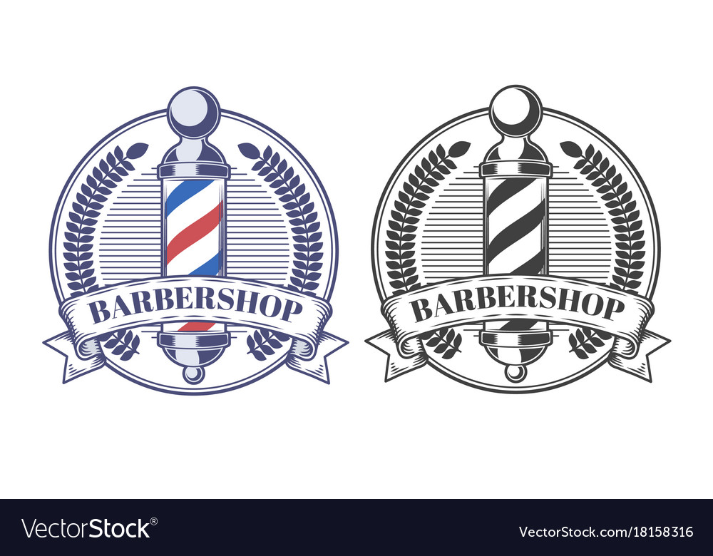 Set of of emblems stickers