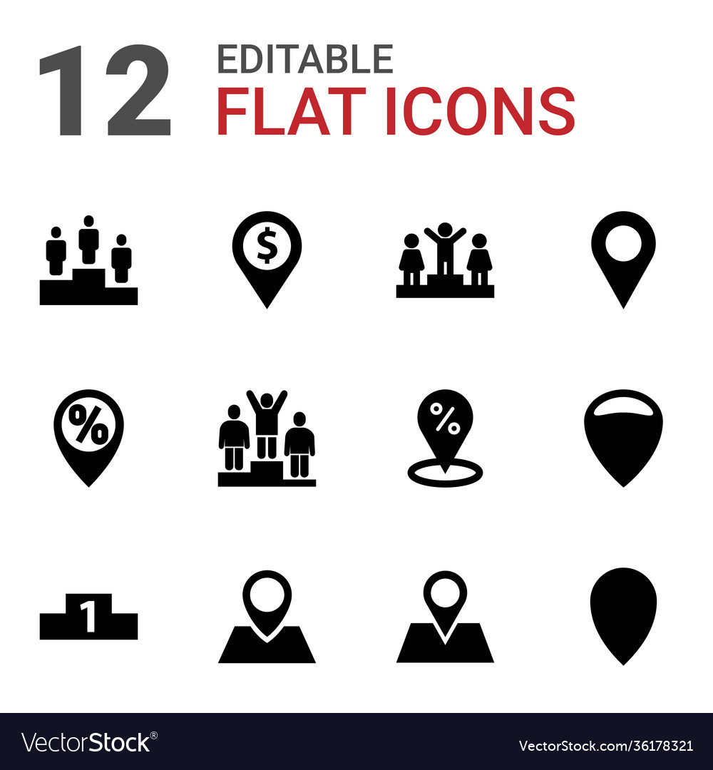 12 position icons