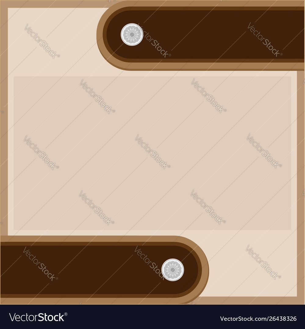Abstract brown beige background with leather strap