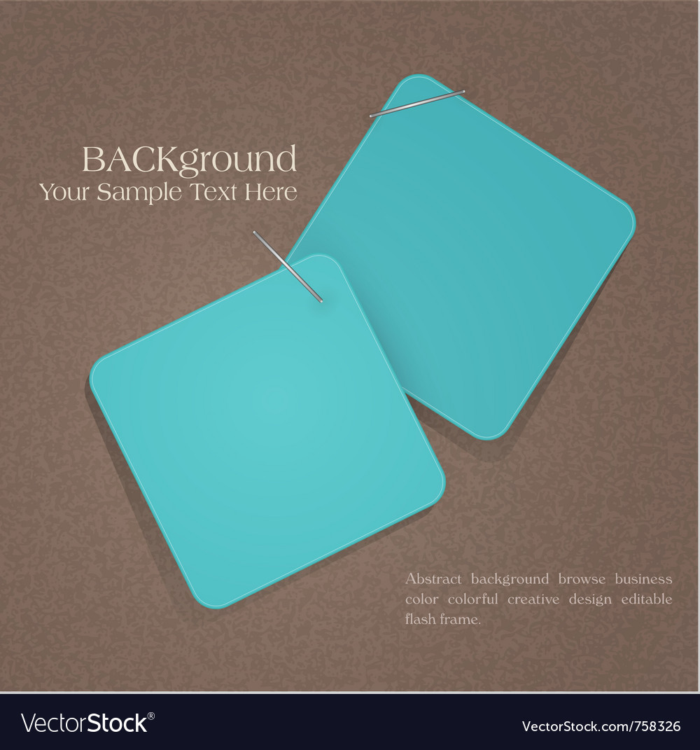 Background elements design