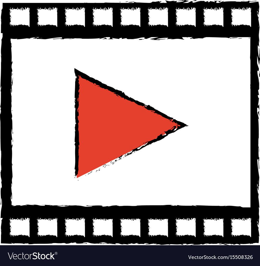 Strip film play cinema movie symbol