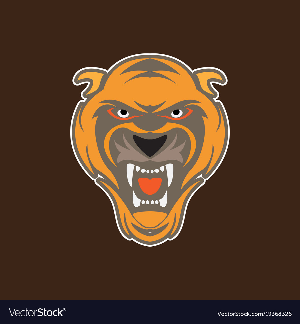 tiger head logo - HD1000×1080