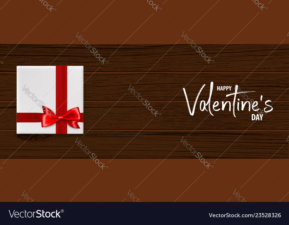 Valentines day wood 3d background