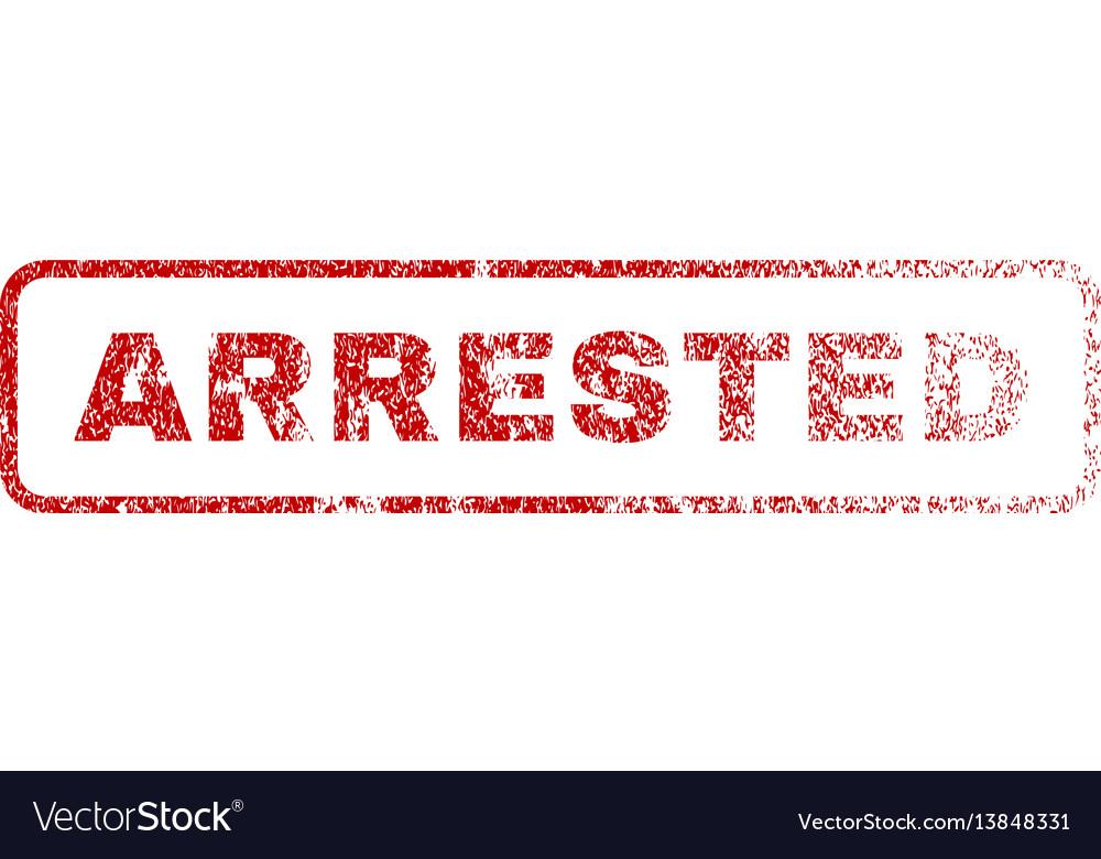 Arrested rubber stamp