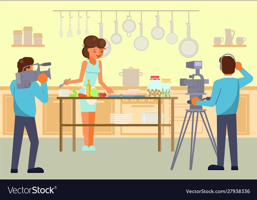 Culinary tv show concept for web banner