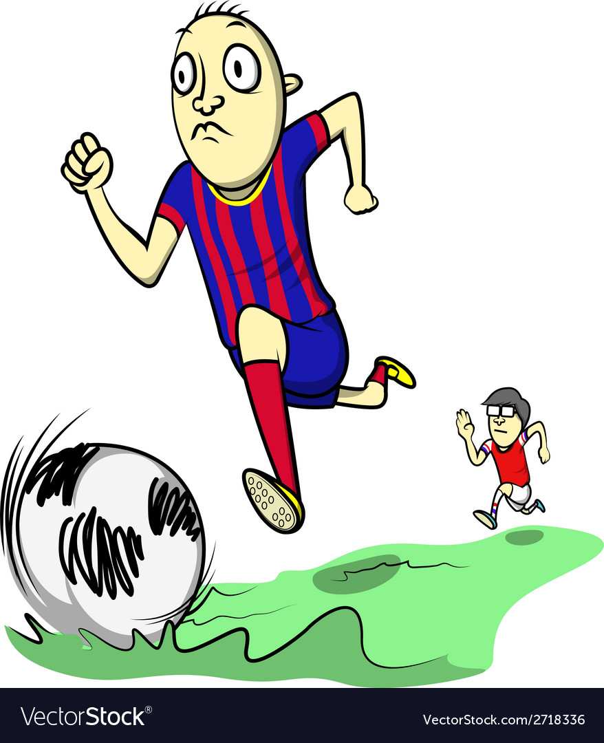 Soccer day vector image