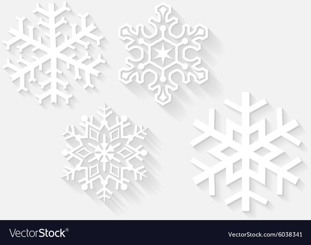 3D Snowflake Set