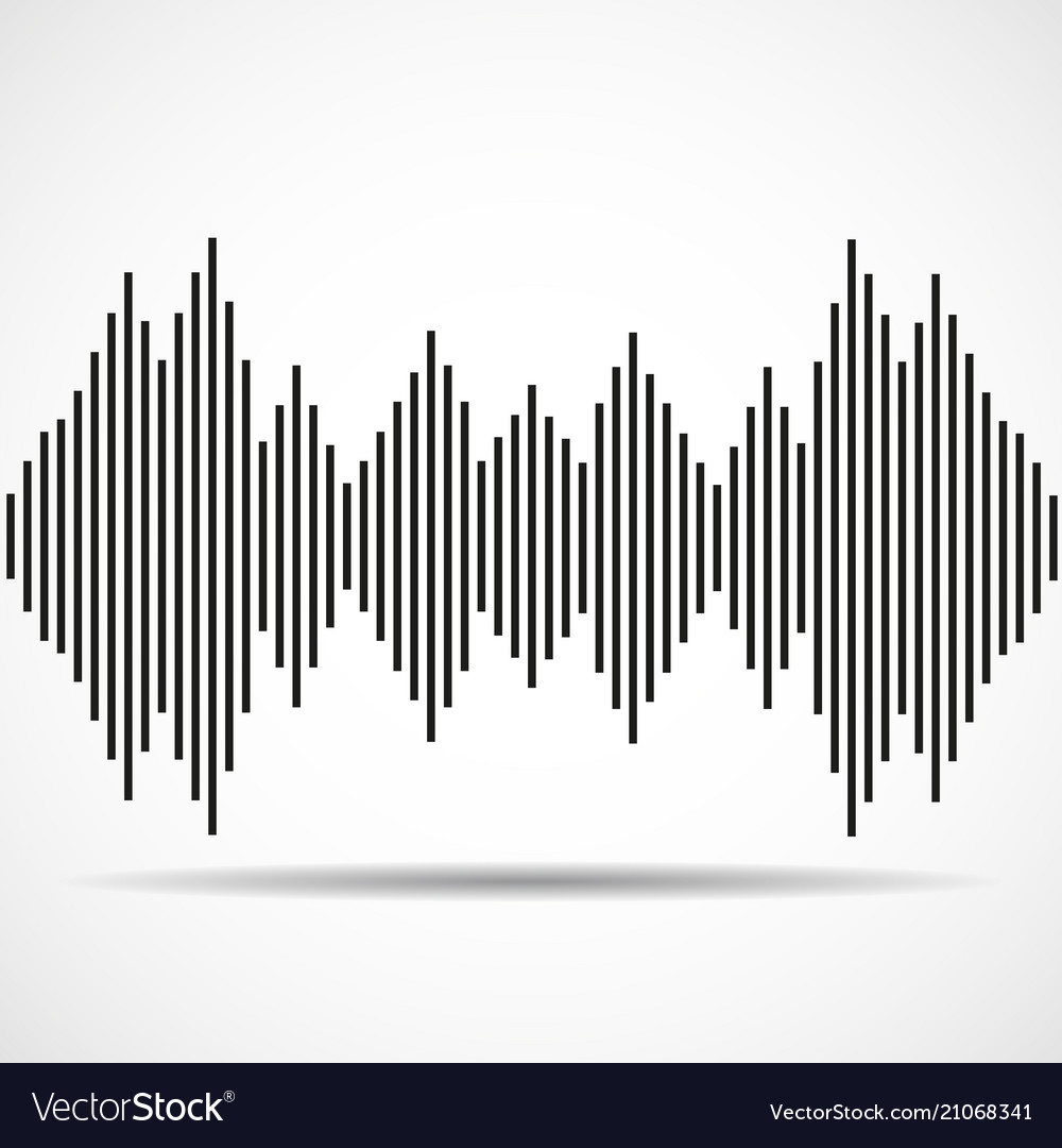 Abstract technology background with as equalizer