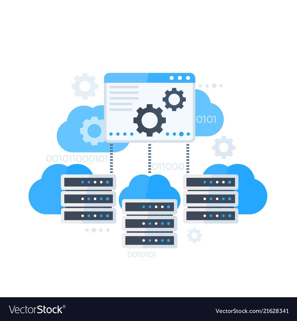 Server control panel hosting software