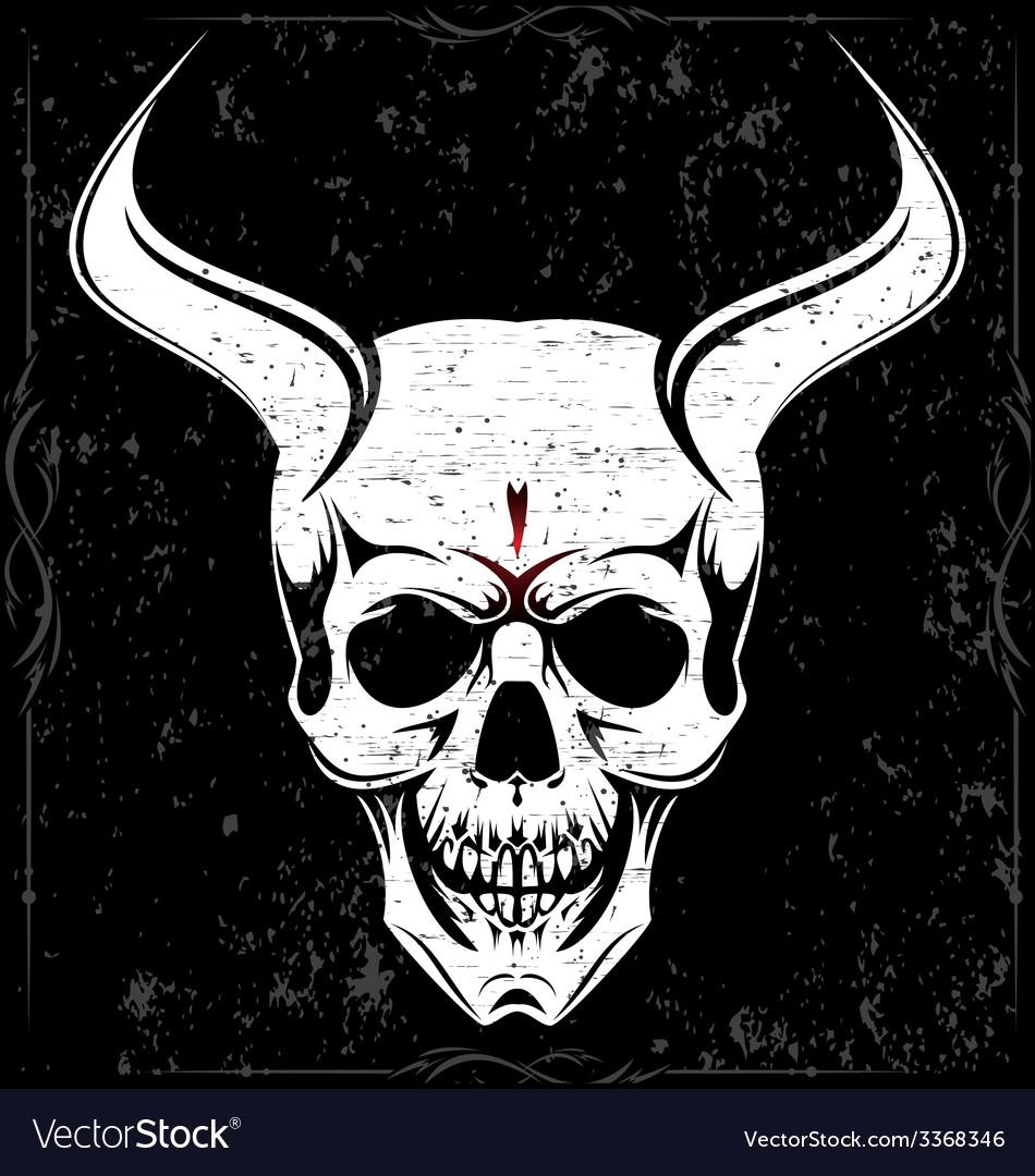 Devil Skulls vector image
