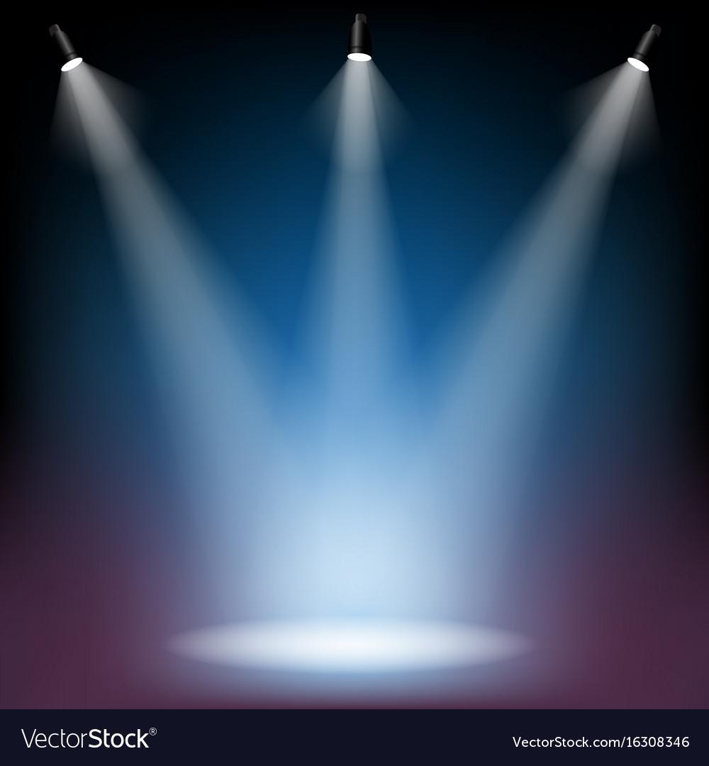 Spotlight Royalty Free Vector Image - VectorStock
