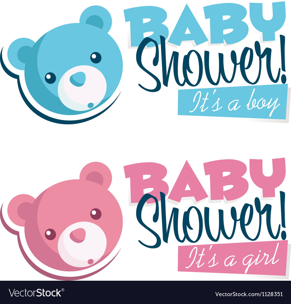 Baby Shower Invitations with Bears