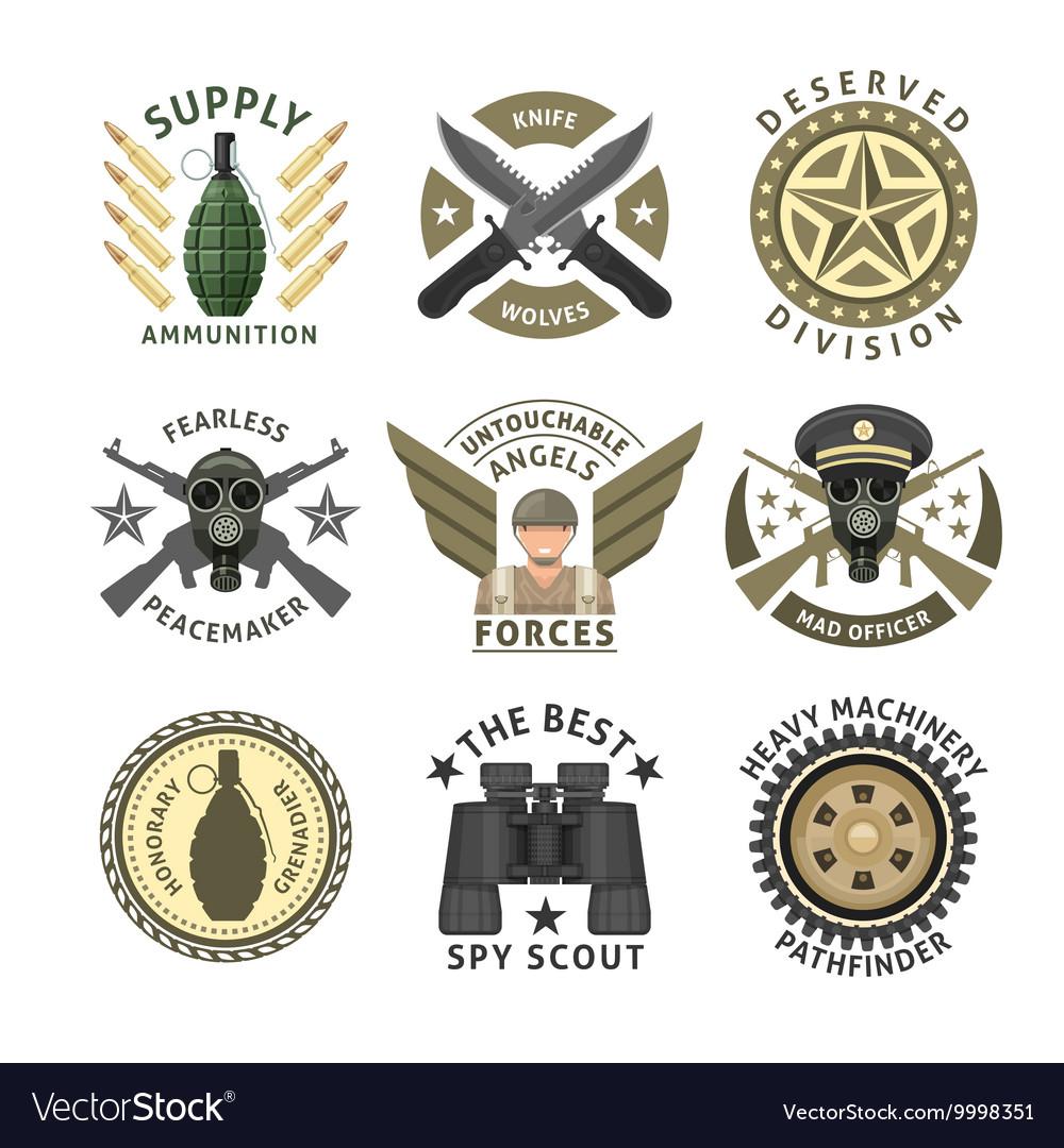 Military Units Emblems