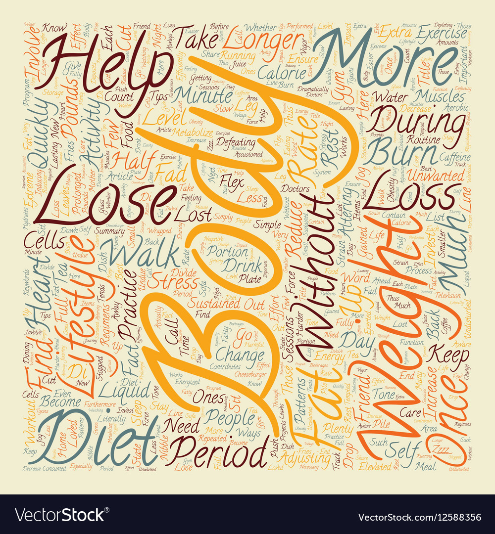 Simple Ways To Lose Weight text background